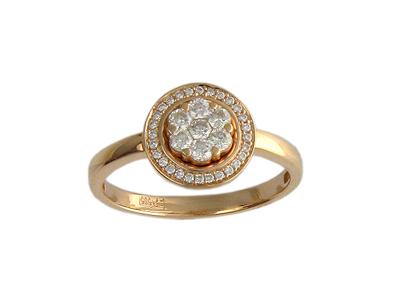 Золотое кольцо Ювелирное изделие 01K613019Z золотое кольцо ювелирное изделие 01k673574l
