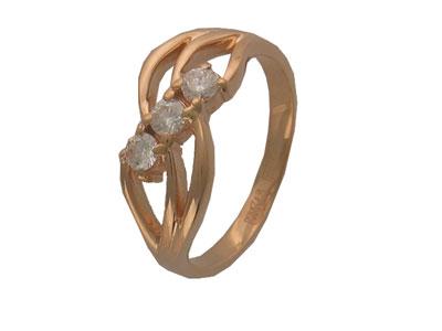 Золотое кольцо Ювелирное изделие 01K613290 золотое кольцо ювелирное изделие 01k673574l