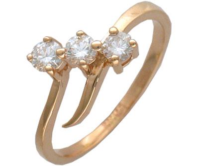 Золотое кольцо Ювелирное изделие 01K613440