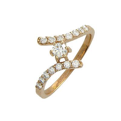 Золотое кольцо Ювелирное изделие 01K613473