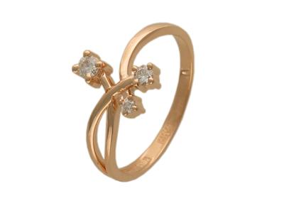 Золотое кольцо Ювелирное изделие 01K613532
