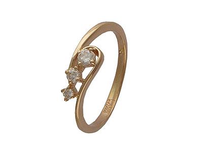 Золотое кольцо Ювелирное изделие 01K613663