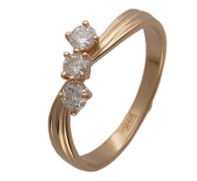 Золотое кольцо Ювелирное изделие 01K613856