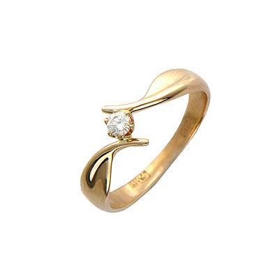 Золотое кольцо Ювелирное изделие 01K613989