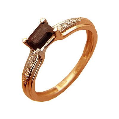 Золотое кольцо Ювелирное изделие 01K614215