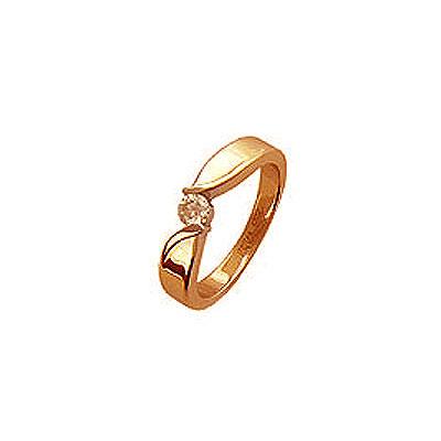 Золотое кольцо Ювелирное изделие 01K614365 золотое кольцо ювелирное изделие 71378rs