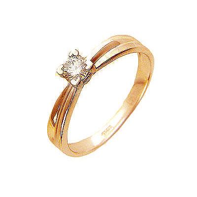 Золотое кольцо Ювелирное изделие 01K614417