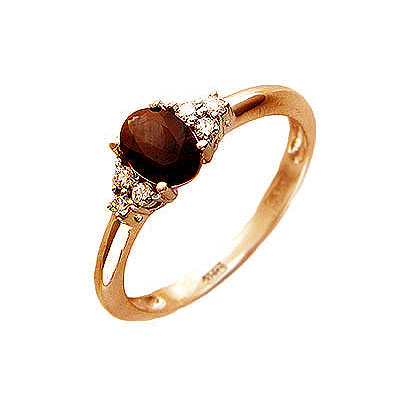 Золотое кольцо Ювелирное изделие 01K614570