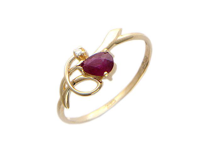 Золотое кольцо Ювелирное изделие 01K614651