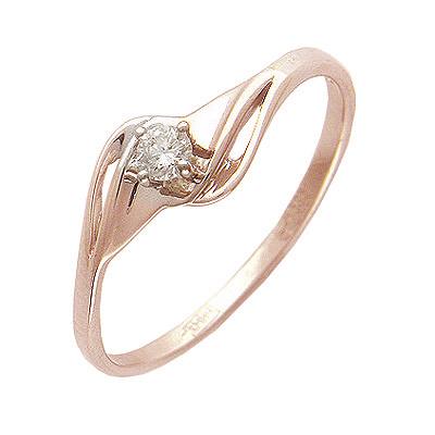 Золотое кольцо Ювелирное изделие 01K614720