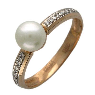 Золотое кольцо Ювелирное изделие 01K614937