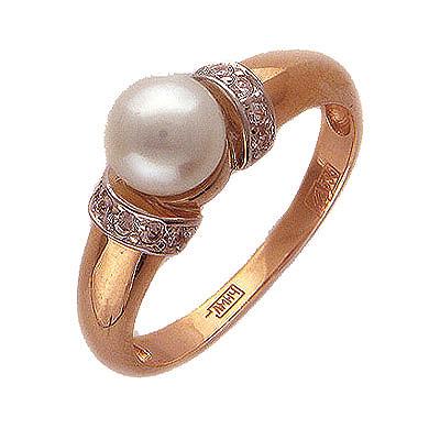 Золотое кольцо Ювелирное изделие 01K614947