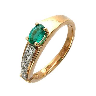 Золотое кольцо Ювелирное изделие 01K615039