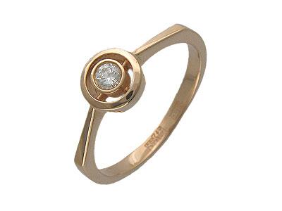 Золотое кольцо Ювелирное изделие 01K615041