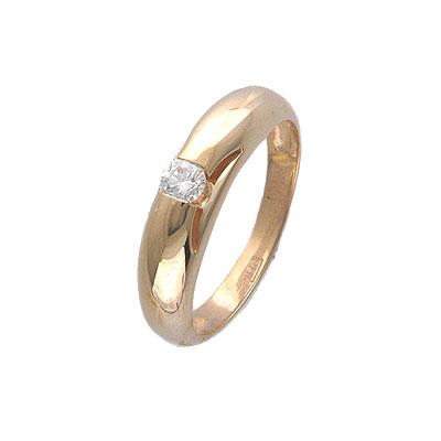 Золотое кольцо Ювелирное изделие 01K615042