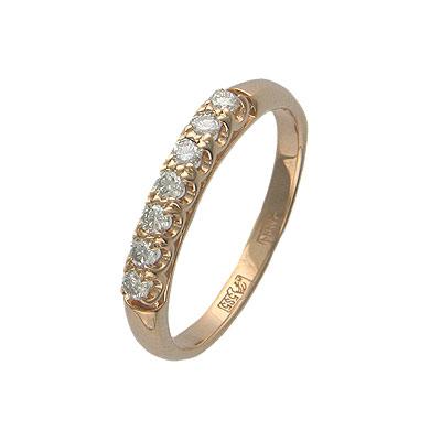 Золотое кольцо Ювелирное изделие 01K615050