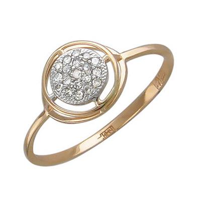 Золотое кольцо Ювелирное изделие 01K615242 золотое кольцо ювелирное изделие 01k646381