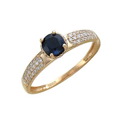 Золотое кольцо Ювелирное изделие 01K615248