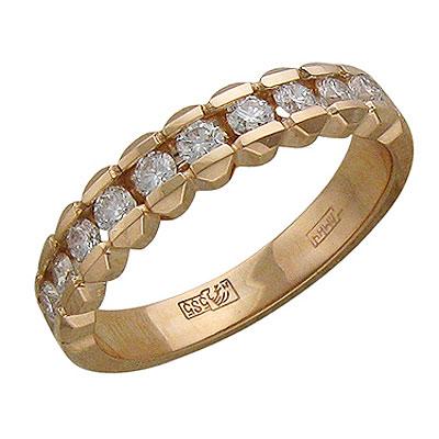Золотое кольцо Ювелирное изделие 01K615258