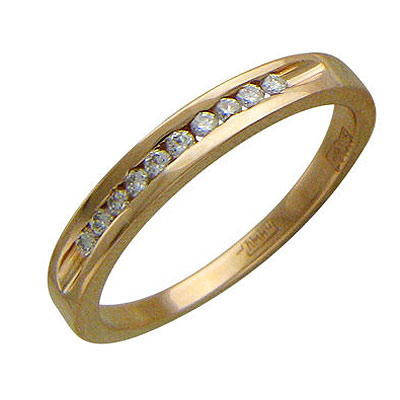 Золотое кольцо Ювелирное изделие 01K615262