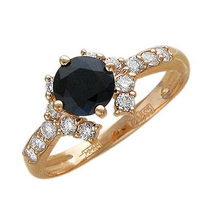 Золотое кольцо Ювелирное изделие 01K615402