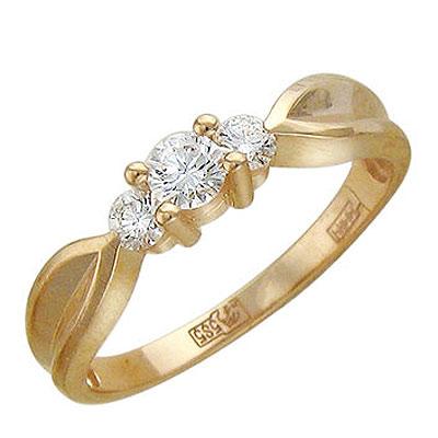 Золотое кольцо Ювелирное изделие 01K615528