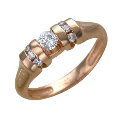 Золотое кольцо Ювелирное изделие 01K615530