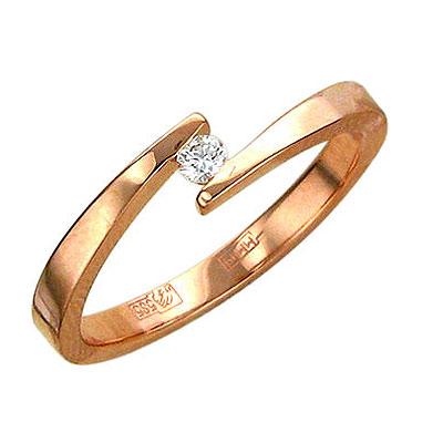 Золотое кольцо Ювелирное изделие 01K615532
