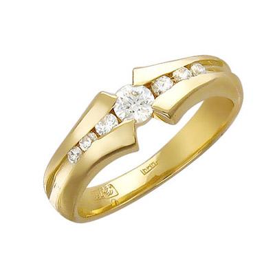 Золотое кольцо Ювелирное изделие 01K615533