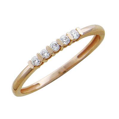 Золотое кольцо Ювелирное изделие 01K615580