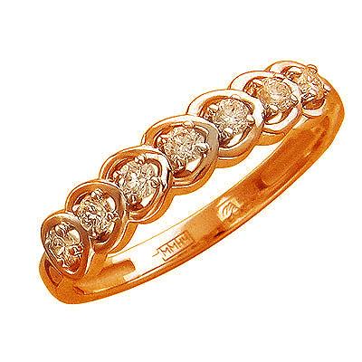 Золотое кольцо Ювелирное изделие 01K615582