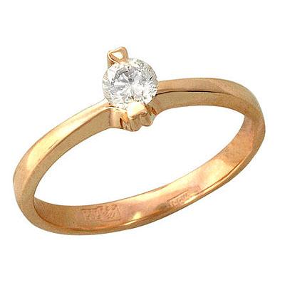 Золотое кольцо Ювелирное изделие 01K615749