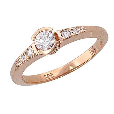 Золотое кольцо Ювелирное изделие 01K615756