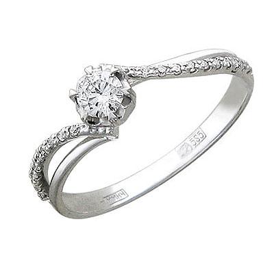 Золотое кольцо Ювелирное изделие 01K615760