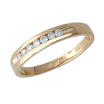 Золотое кольцо Ювелирное изделие 01K615999