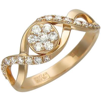 Золотое кольцо Ювелирное изделие 01K616019