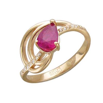 Золотое кольцо Ювелирное изделие 01K616091