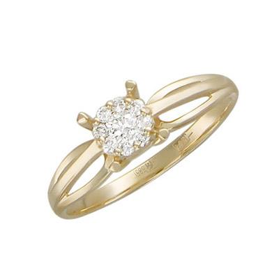 Золотое кольцо Ювелирное изделие 01K616351
