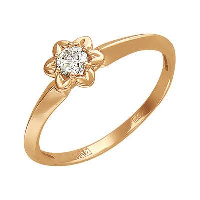 Золотое кольцо Ювелирное изделие 01K616718