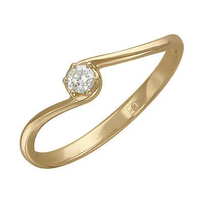Золотое кольцо Ювелирное изделие 01K616725