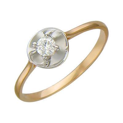 Золотое кольцо Ювелирное изделие 01K616777 front