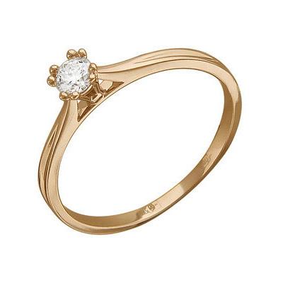 Золотое кольцо Ювелирное изделие 01K616782