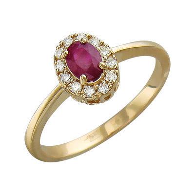 Золотое кольцо Ювелирное изделие 01K616899