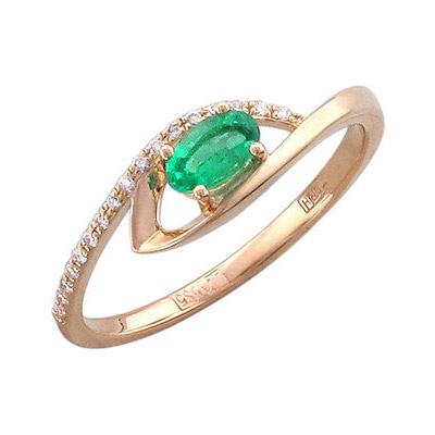 Золотое кольцо Ювелирное изделие 01K616906