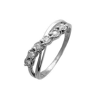 Золотое кольцо Ювелирное изделие 01K624989 золотое кольцо ювелирное изделие 01k643576