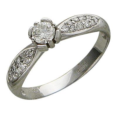 Золотое кольцо Ювелирное изделие 01K625183