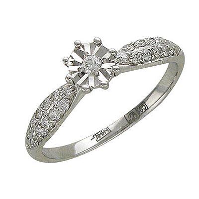 Золотое кольцо Ювелирное изделие 01K625448