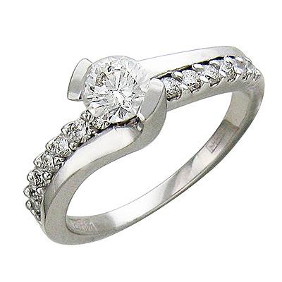 Золотое кольцо Ювелирное изделие 01K625658