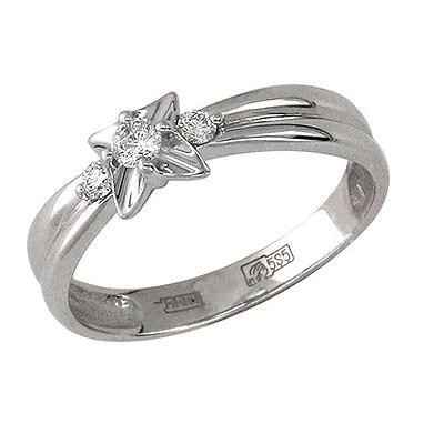 Золотое кольцо Ювелирное изделие 01K625758