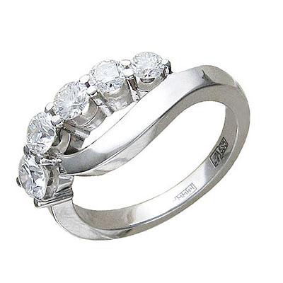 Золотое кольцо Ювелирное изделие 01K626002 золотое кольцо ювелирное изделие 01k623290